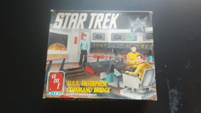 1991 star trek model set never used