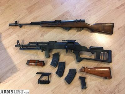 For Sale/Trade: AK & SKS Combo