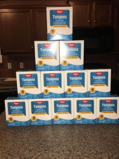 Case of regular absorbency tampons. This is 12 boxes for just $18.00 ~ GREAT DEAL!!!