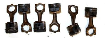 Purchase BMW OEM E34 E36 M50 NON VANOS PISTON & CONNECTING ROD SET OF 6 STROKER motorcycle in Hayden, Idaho, United States, for US $149.95