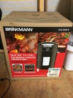 Charcoal Smoker / Grill - Brand New