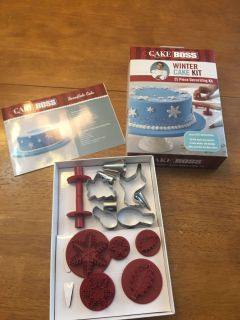 Cake Boss kit and baking tools