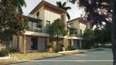 3D Exterior Rendering Animation Studio