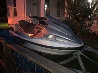 2003 waverunner 1200 XLT. No motor - title lost SOLD AS IS !!! The trailer has new tires