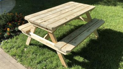 NEW Treated Picnic Table