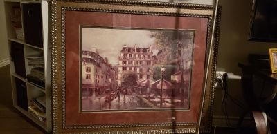picture frame heavy and large ec