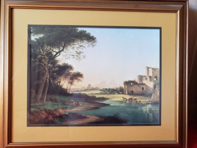 Decorative pictures in frames