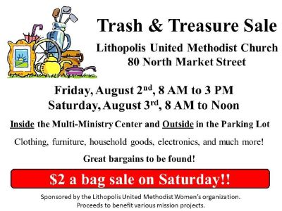 Trash & Treasure Sale - Lithopolis United Methodist Church