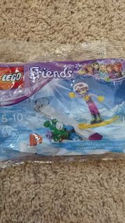 Lego Friends Snowboarding Tricks
