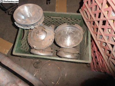 Bug Headlight Buckets