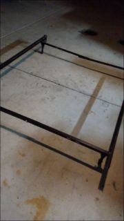 $250, Queen bedframe headboard  dresser, twin tempura pedic mattress  boxspring  metal frame