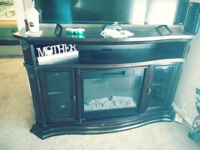 Fireplace T.V stand