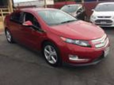 2015 Chevrolet Volt Safety One Backup and Sensors Burgundy, Safety Package One