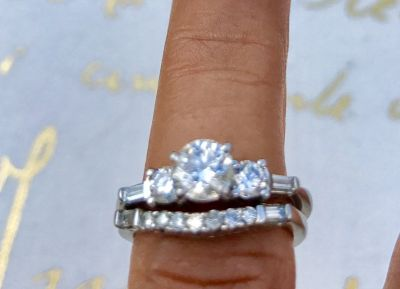 Wedding Platinum Set