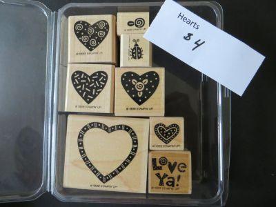 Stampin Up Hearts stamp set