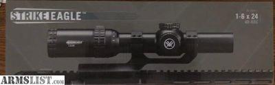 For Sale: Vortex Strike Eagle 1-6 x 24