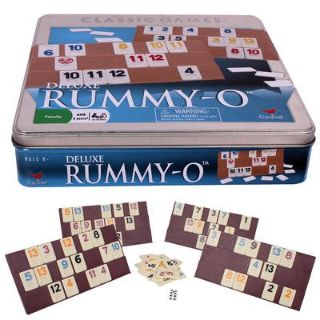 Deluxe Rummy-O in Tin Box - Ages 6+