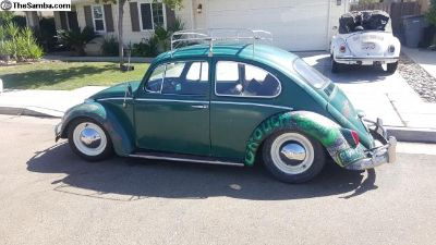 1966 Java Green Bug