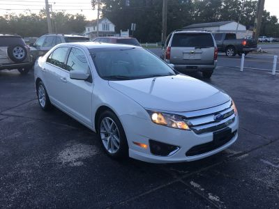 2011 Ford Fusion SEL (White)