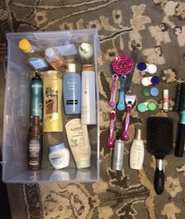 Large lot of beauty/ cosmetics/ hair