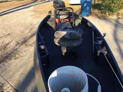 15' RiverHawk boat, 25 hp 2 stroke Evinrude $2,200.00 OBO