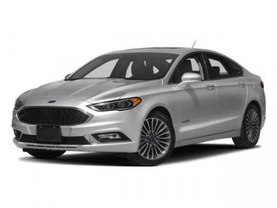 2017 Ford Fusion Hybrid Titanium (White)