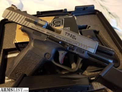 For Sale: Canik tp9sf elite tungsten 9mm | Like New | Lincoln park | 350