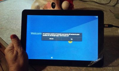 Insignia 10.1 tablet Android