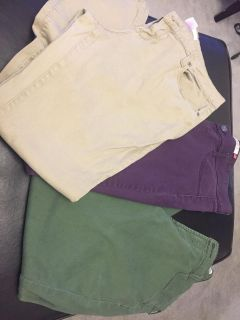 Three pair size 17 jeggings