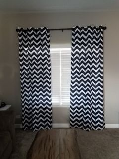 40x95 set of curtains