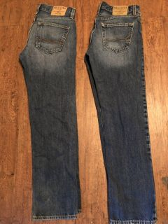 HOLLISTER Jeans size 30x30 and 29x30