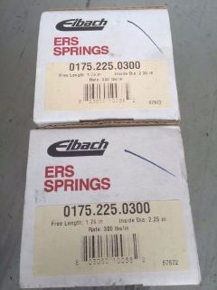 "Purchase Eibach Tender/Linear Spring 2.250"" Dia 1.750"" L 300 lbs/in Spring motorcycle in Redmond, Washington, United States, for US $150.00"