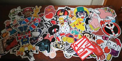 60 design stickers 3.00 for all
