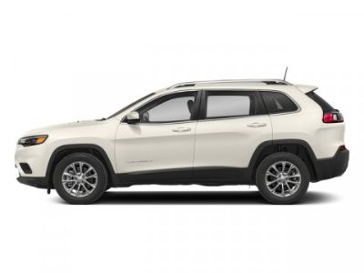 2019 Jeep Cherokee Overland (Pearl White Pearlcoat)
