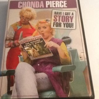 """CHONDA PIERCE - """"Have I got a story for you"""""""