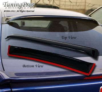 Purchase JDM Rear Visor Roof Spoiler WindShield Deflector BMW E34 530i 535i 88-94 95 96 motorcycle in La Puente, California, US, for US $49.00