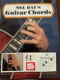 Mel Bay's Guitar Chords book, EXCELLENT USED CONDITION