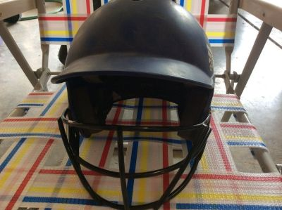 USED ADIDAS batting helmet