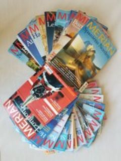 25 MERIAN travel magazines - German