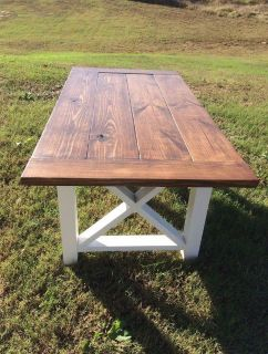 FARMHOUSE COFFEE AND END TABLES SET