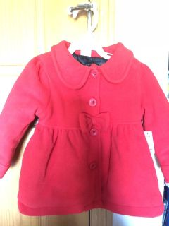 Infant girls coat, size 12/18 months, NWT, smoke free in Darboy and crossposted