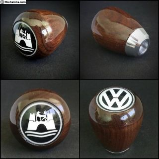 Wolfsburg VW Wood custom weight Shift Knob Walnut