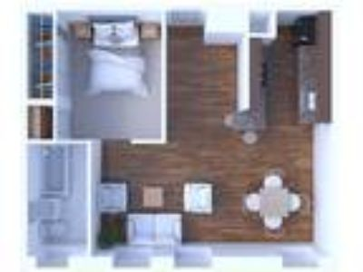 The Versailles Apartments - One BR Floor Plan A7