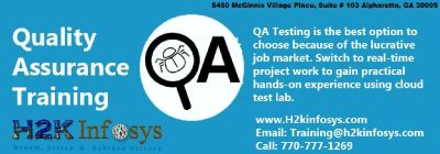 Quality Assurance Online Training Classes With Job Support