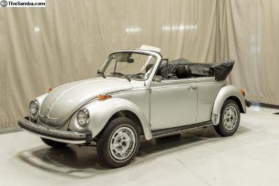 4k Original Miles '79 Super Beetle Convertible