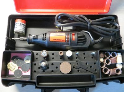 Craftsman Variable Speed Rotary Tool Kit - Accessories Included