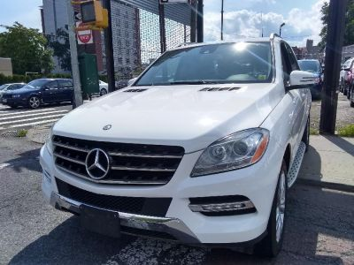 2015 Mercedes-Benz M-Class 4MATIC 4dr ML350 (Polar White)