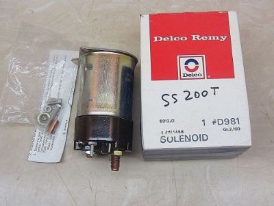 Sell Delco Remy D981 Starter Solenoid 1114458 Made In USA Camaro Corvette C10 350 454 motorcycle in Scottsburg, Indiana, United States, for US $28.00