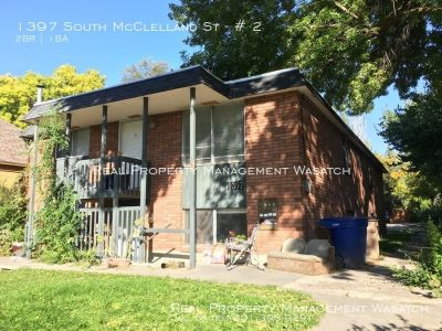 2 Bed 1 Bath Sugar-house apartment for rent