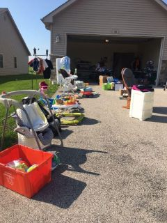 Last day of garage sale lots of stuff everything must go